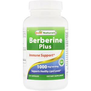 Best Naturals, Berberine Plus, 1000 mg, 120 Capsules отзывы