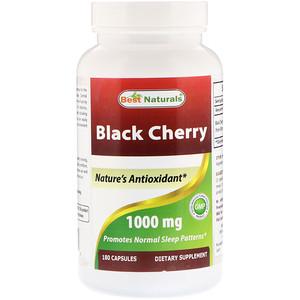 Best Naturals, Black Cherry, 1000 mg, 180 Capsules отзывы