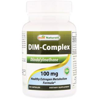 Best Naturals, Dim-Complex, 100 mg, 60 Capsules
