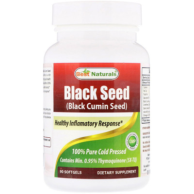 Best Naturals Black Seed , 90 Softgels