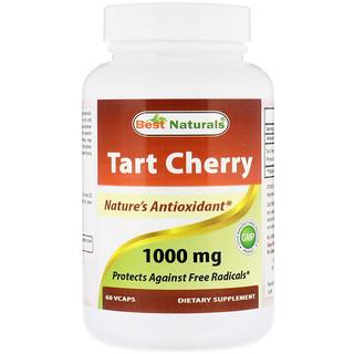 Best Naturals, Tart Cherry, 1000 mg, 60 VCaps