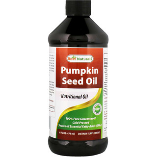 Best Naturals, Pumpkin Seed Oil, 16 fl oz (473 ml)