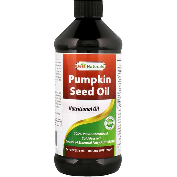 Best Naturals, Pumpkin Seed Oil, 16 fl oz (473 ml) (Discontinued Item)
