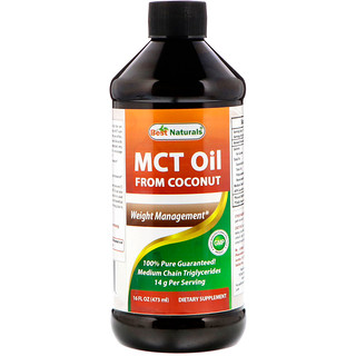Best Naturals, MCT Oil From Coconut, 16 fl oz (473 ml)