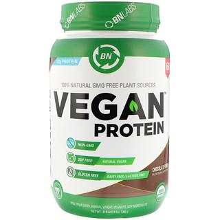 BN LABS, بروتين نباتي، حلوى الشوكولاتة ، 2.6 رطل (1200 جم)