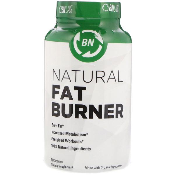 BN LABS, Естественный жиросжигатель, 60 капсул (Discontinued Item)