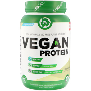 BN LABS, Vegan Protein, French Vanilla, 2.3 lbs (1066 g)
