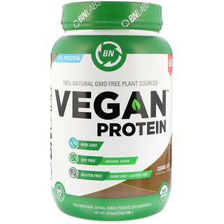 BN LABS, Vegan Protein, Caramel Latte, 2.3 lbs (1066 g)