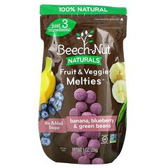 Beech-Nut, 果蔬混合物,3 段,香蕉、藍莓、青豆,1 盎司(28 克)