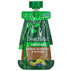 Beech-Nut, Naturals, Stage 2, Banana, Blueberries & Avocado, 6 Pouches, 3.5 oz (99 g) Each