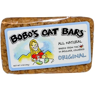 Bobo's Oat Bars, Original, 3 oz (85 g)