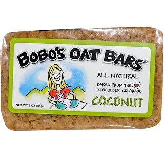 Bobo's Oat Bars, Coconut Bar, 3 oz (85 g)