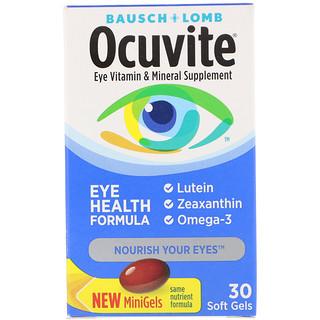 Bausch & Lomb, Формула здоровья глаз, 30 мягких желатиновых капсул