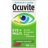 Bausch & Lomb, Ocuvite, Eye + Multi, 60 Tablets