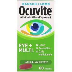 Бауш энд Лом Окьюуайт, Ocuvite, Eye + Multi, 60 Tablets отзывы