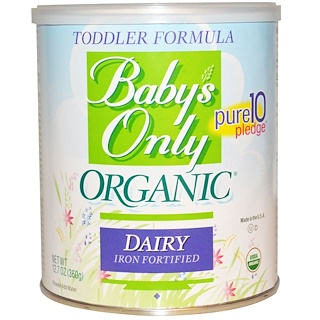 Nature's One, Toddler Formula, Dairy, Iron Fortified, 12.7 oz (360 g)