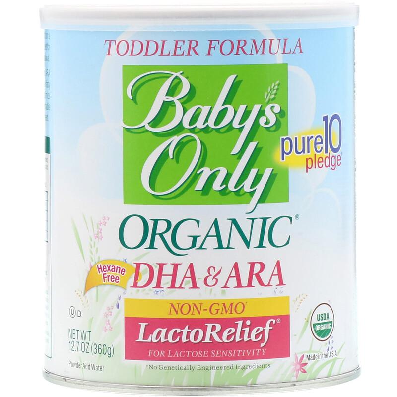 Organic Toddler Formula, LactoRelief, 12.7 oz (360 g)