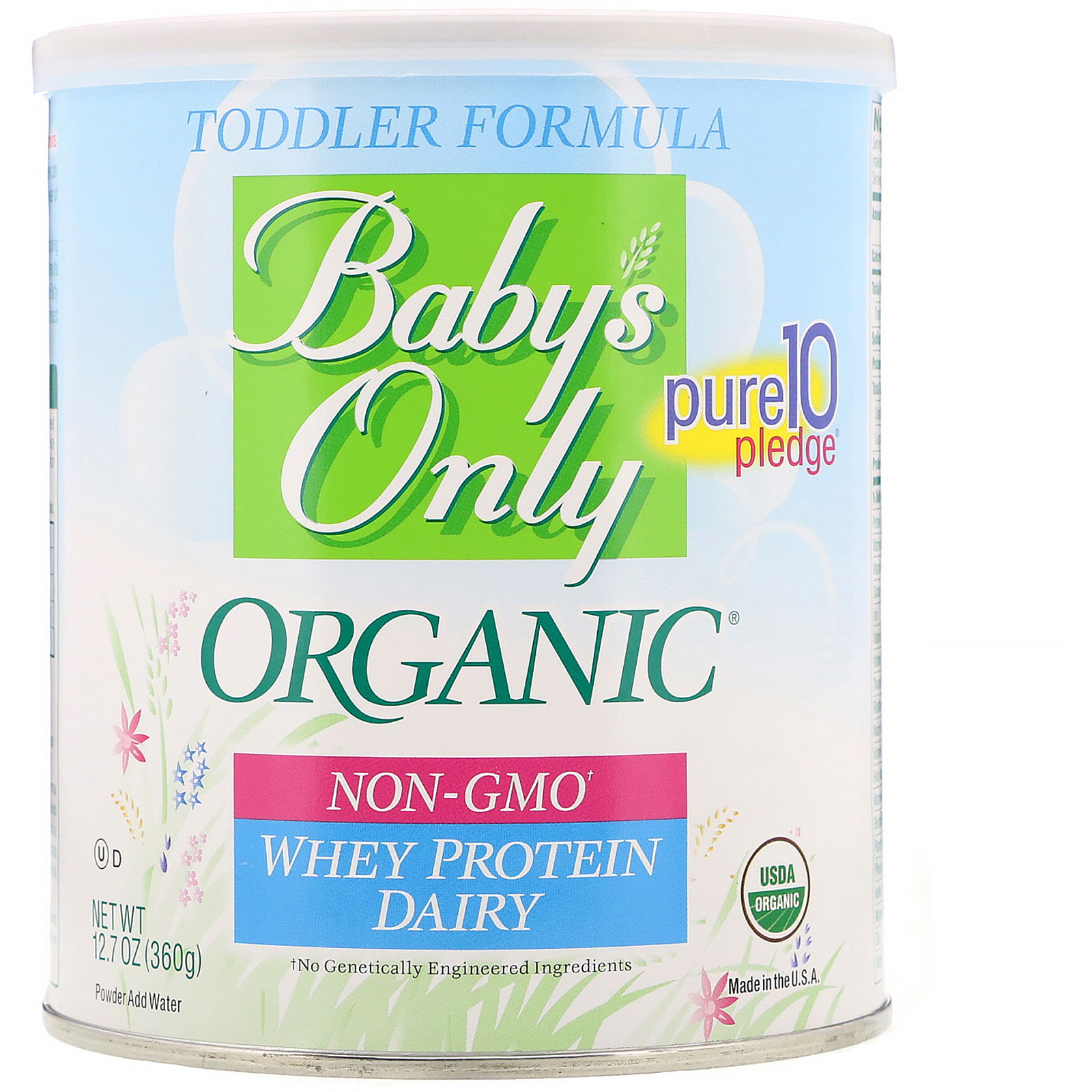 Nature S One Baby S Only Organic Toddler Formula Whey