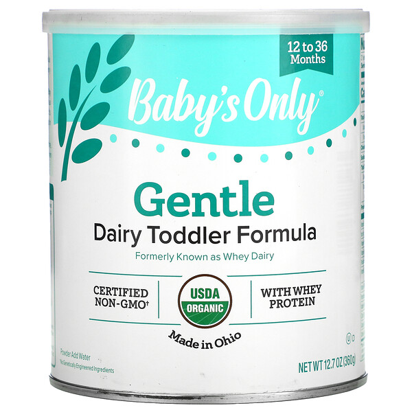 Baby's Only, Gentle Dairy Toddler Formula With Whey Protein, 12.7 oz (360 g)