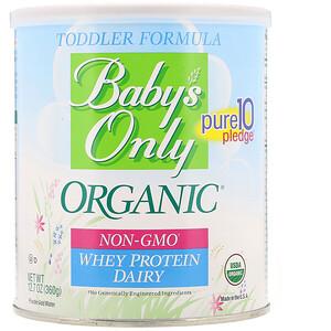 Нэйчерс ван, Baby's Only Organic, Toddler Formula Whey Protein, Dairy, 12.7 oz (360 g) отзывы