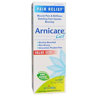 Boiron, Arnicare Gel, Pain Relief、無香料、4.1オンス(120 g)