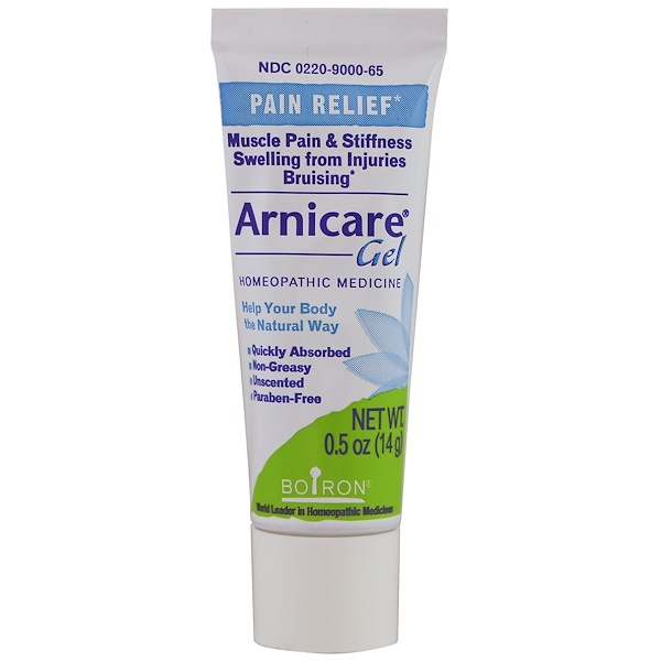 Boiron, Arnicare Gel, Pain Relief, Unscented, 0.5 oz (14 g) (Discontinued Item)