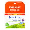 Boiron, Aconitum, Fever Relief, Meltaway Pellets, 30C, 3 Tubes, 80 Pellets Each