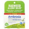 Boiron, Ambrosia, Allergy Relief, Meltaway Pellets, 3 Tubes, 80 Pellets Each