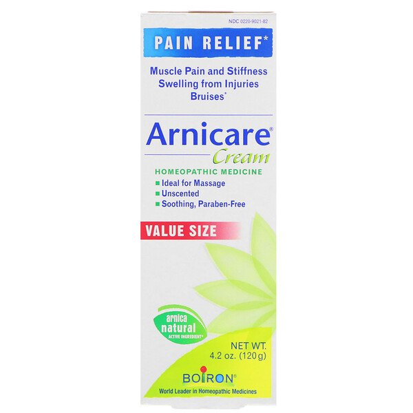 Boiron, Arnicare Cream, Unscented, 4.2 oz (120 g)