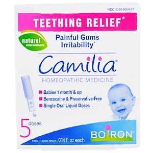 Бойрон, Camilia, Teething Relief, 5 Doses, .034 fl oz Each отзывы покупателей