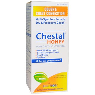 Boiron, Chestal Honey, Cough & Chest Congestion, 6.7 fl oz (20 adult doses)