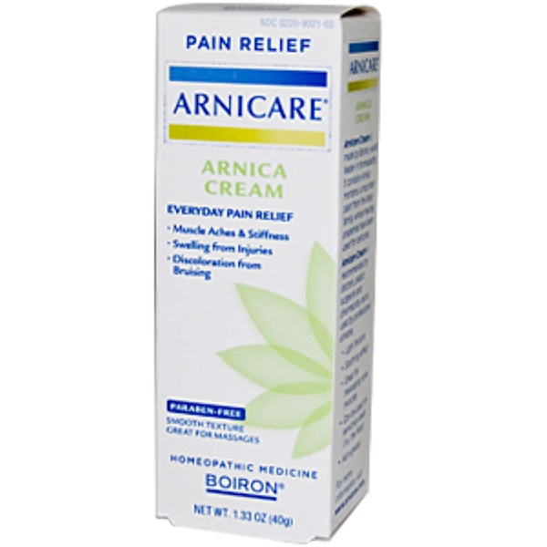Boiron, Arnicare, Arnica Cream, Pain Relief, 1.33 oz (40 g) (Discontinued Item)