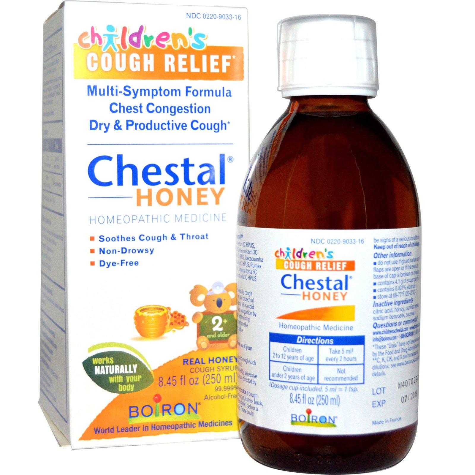 Boiron, Chestal Honey, Children's Cough Relief, 8 45 fl oz (250 ml)  (Discontinued Item)