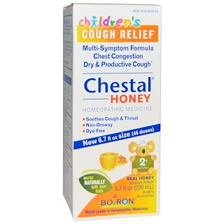 Boiron, Chestal Honey, Children's Cough Relief, 6.7 fl oz (200 ml)