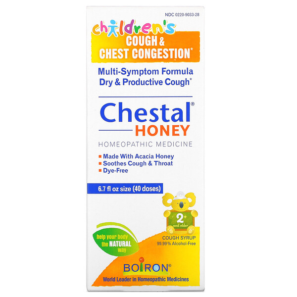Chestal Honey, Children's Cough & Chest Congestion, 6.7 fl oz (40 doses)