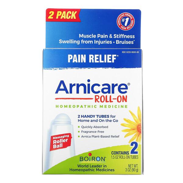 Arnicare Roll-on, 2 Tubes, 1.5 oz Each