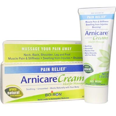 Крем Arnicare, избавление от боли, без запаха, 2,5 унций (70 г) arnicare gel облегчение боли без запаха 120 г 4 1 унции