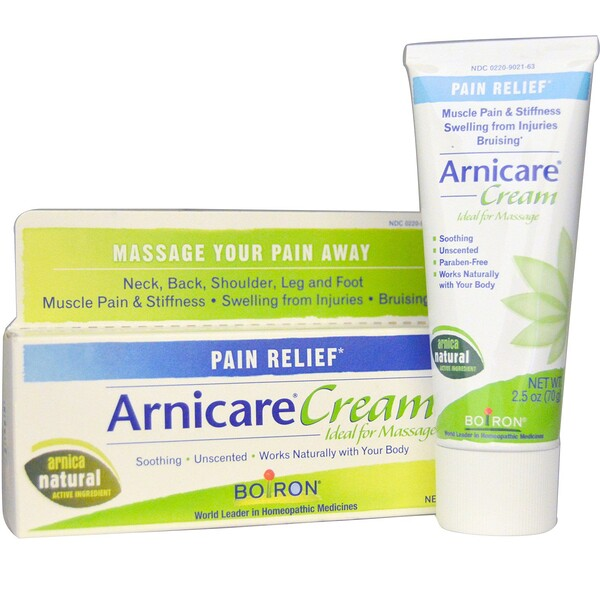 Arnicare Cream, Pain Relief, Unscented, 2.5 oz (70 g)