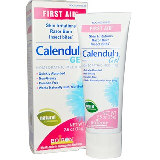 Boiron, Calendula Gel, First Aid, 2.6 oz (75 g)