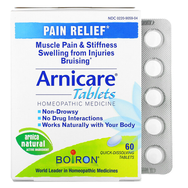 Arnicare, Pain Relief, 60 Quick-Dissolving Tablets