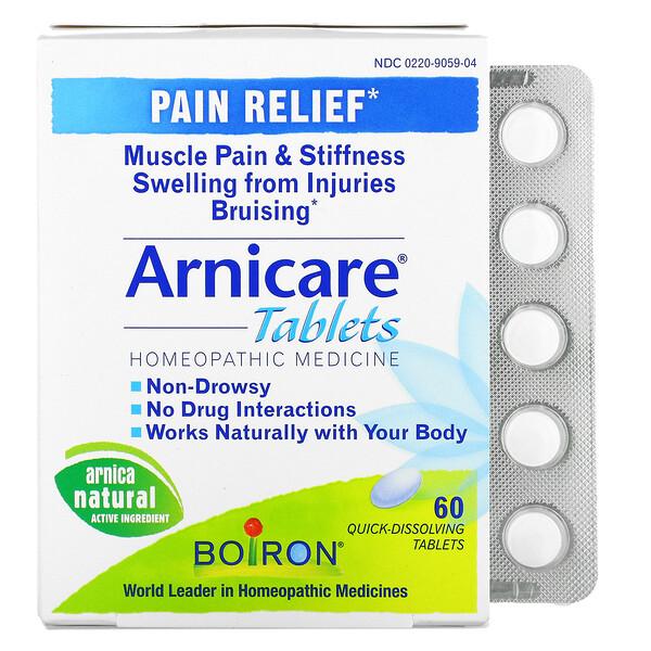 Arnicare, Alivio para el dolor, 60 Comprimidos de disolución rápida