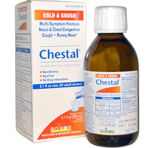 Chestal, Resfriado y Tos, 6.7 fl oz (200 ml)