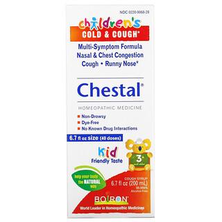 Boiron, Chestal, Children's Cold & Cough, 3+ and Older, 6.7 fl oz (200 ml)