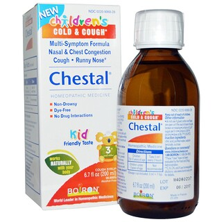 Boiron, チェスタル(Chestal), 子供の風邪&咳, 6.7液量オンス(200 ml)