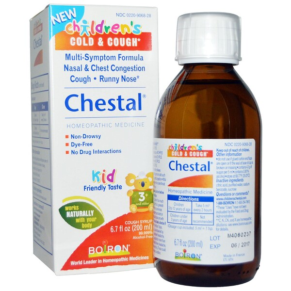 Boiron, Chestal, Children's Cold & Cough, 6.7 fl oz (200 ml)