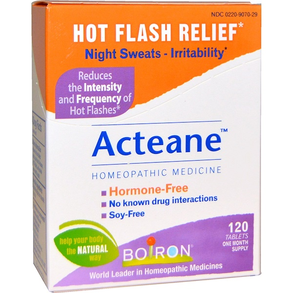 Boiron, Acteane, 120 Tablets (Discontinued Item)