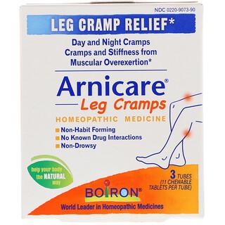 Boiron, Arnicare Leg Cramps, 3 Tubes, 11 Chewable Tablets Per Tube