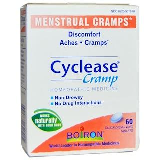 Boiron, Циклиз при спазмах, Менструальные спазмы, 60 быстрорастворимых таблеток