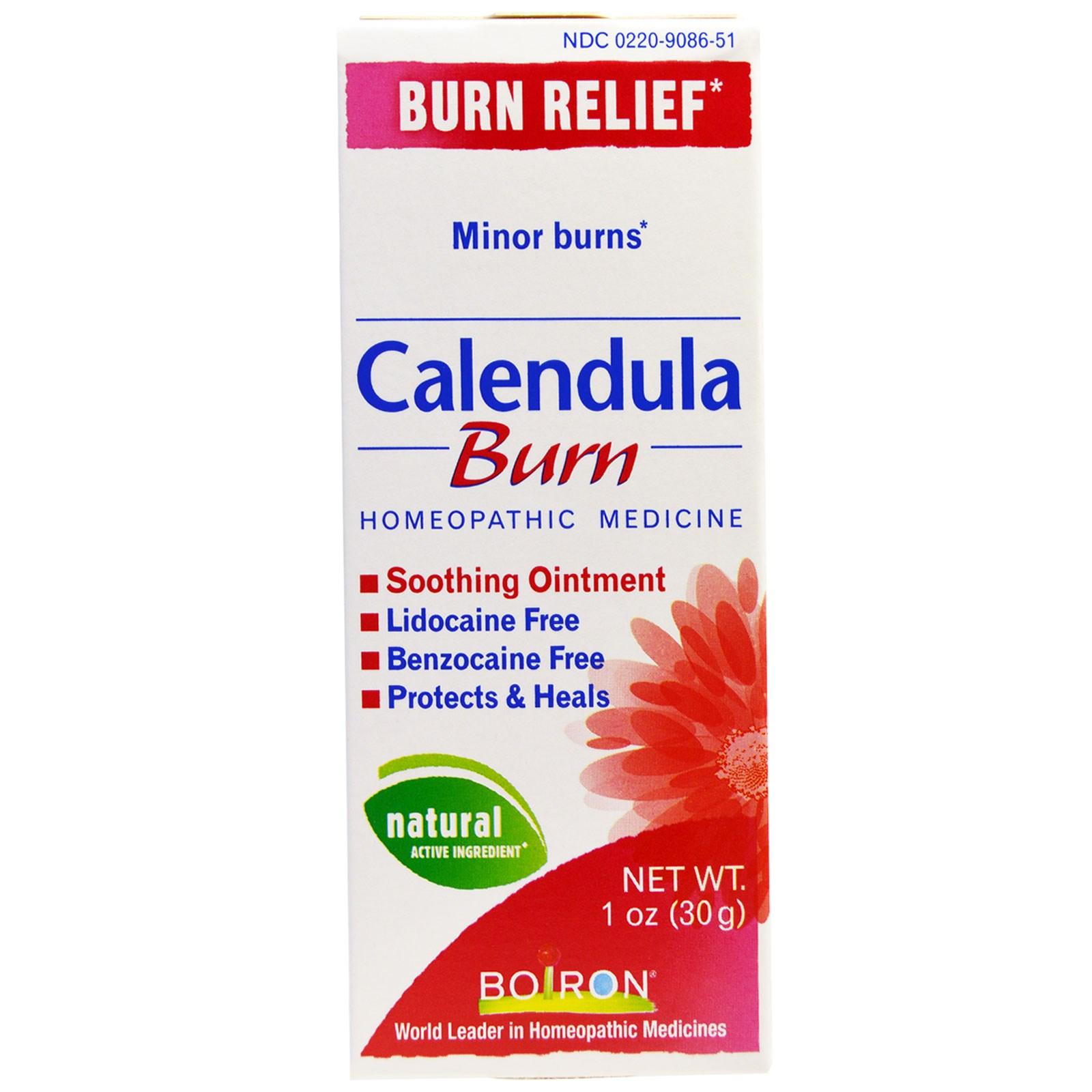 Boiron Calendula Burn Soothing Ointment 1 Oz 30 G Iherbcom