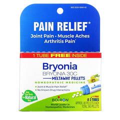 Boiron, 白瀉根疼痛舒緩配方,即溶顆粒,30C,3 瓶裝,80 粒/瓶